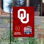 OU Sooners College Football CFP Semifinal Game Garden Flag
