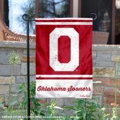 OU Sooners College Vault Logo Garden Flag
