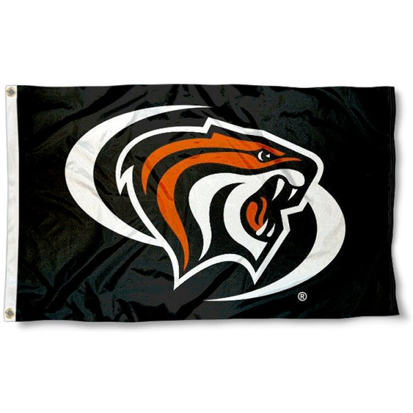 Pacific Tigers Black Logo Flag measures 3'x5', is made of 100% poly, has quadruple stitched sewing, two metal grommets, and has double sided Team University logos. Our Pacific Tigers 3x5 Flag is officially licensed by the selected university and the NCAA.