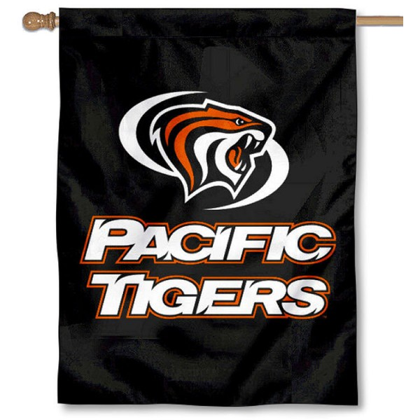 Pacific Tigers House Flag is a vertical house flag which measures 30x40 inches, is made of 2 ply 100% polyester, offers screen printed NCAA team insignias, and has a top pole sleeve to hang vertically. Our Pacific Tigers House Flag is officially licensed by the selected university and the NCAA.