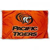 Pacific Tigers Logo Flag