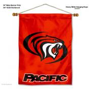 Pacific Tigers Wall Banner