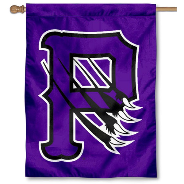 Paine Lions House Flag is a vertical house flag which measures 30x40 inches, is made of 2 ply 100% polyester, offers screen printed NCAA team insignias, and has a top pole sleeve to hang vertically. Our Paine Lions House Flag is officially licensed by the selected university and the NCAA.