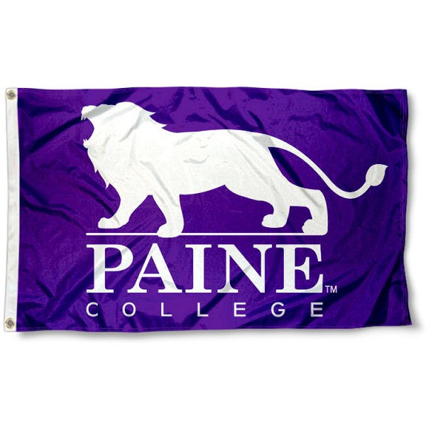 Paine Lions Lion Logo Flag measures 3x5 feet, is made of 100% polyester, offers quadruple stitched flyends, has two metal grommets, and offers screen printed NCAA team logos and insignias. Our Paine Lions Lion Logo Flag is officially licensed by the selected university and NCAA.