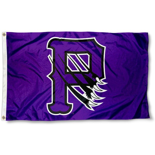 Paine Lions P Logo Flag measures 3x5 feet, is made of 100% polyester, offers quadruple stitched flyends, has two metal grommets, and offers screen printed NCAA team logos and insignias. Our Paine Lions P Logo Flag is officially licensed by the selected university and NCAA.