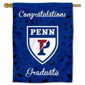 Penn Quakers Congratulations Graduate Flag