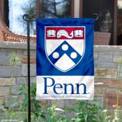 Penn Quakers Shield Garden Flag