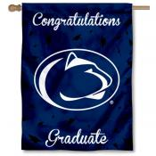 Penn State Nittany Lions Congratulations Graduate Flag