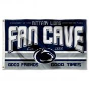 Penn State Nittany Lions Fan Man Cave Game Room Banner Flag