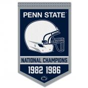 Penn State Nittany Lions Football National Champions Banner