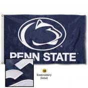 Penn State Nittany Lions Nylon Embroidered Flag
