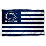 Penn State Nittany Lions Striped Flag