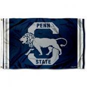 Penn State Nittany Lions Throwback Vault Logo Flag