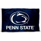 Penn State University Blue Flag