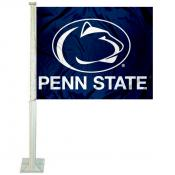 Penn State University Car Window Flag