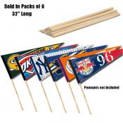 Pennant Stick 6 Pack