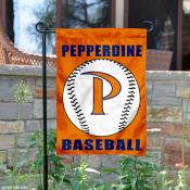 Pepperdine Waves Baseball Team Garden Flag
