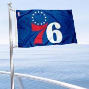 Philadelphia 76ers Boat and Nautical Flag