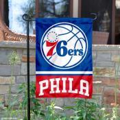 Philadelphia 76ers Garden Flag