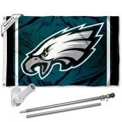 Philadelphia Eagles Flag Pole and Bracket Kit