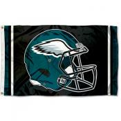 Philadelphia Eagles New Helmet Flag