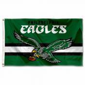 Philadelphia Eagles Throwback Retro Vintage Logo Flag