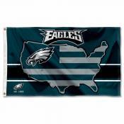 Philadelphia Eagles USA Country Flag