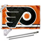 Philadelphia Flyers Flag Pole and Bracket Kit