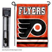 Philadelphia Flyers Garden Flag and Stand