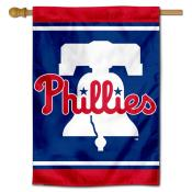 Philadelphia Phillies Bell Double Sided House Flag