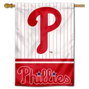 Philadelphia Phillies Double Sided House Flag