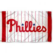 Philadelphia Phillies Pinstripes Logo Flag