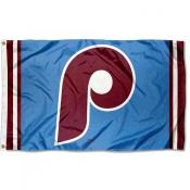 Philadelphia Phillies Retro Vintage Logo Flag