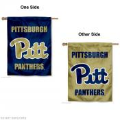 Pitt Panthers Dual Logo House Flag