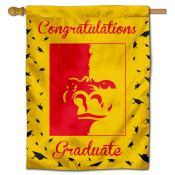 Pittsburg State Gorillas Congratulations Graduate Flag