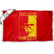 Pittsburg State Gorillas Small 2'x3' Flag
