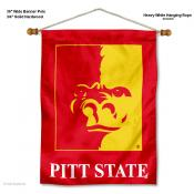 Pittsburg State Gorillas Wall Banner