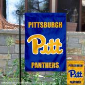 Pittsburgh Panthers Blue Gold Garden Flag