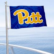Pittsburgh Panthers Boat and Mini Flag
