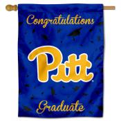 Pittsburgh Panthers Congratulations Graduate Flag