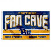 Pittsburgh Panthers Fan Man Cave Game Room Banner Flag
