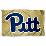 Pittsburgh Panthers Gold Flag