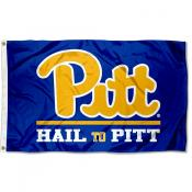 Pittsburgh Panthers Hail to Pitt Flag