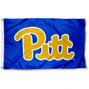 Pittsburgh Panthers Throwback Royal Blue Flag