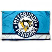 Pittsburgh Penguins Vintage Logo Flag