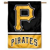 Pittsburgh Pirates Double Sided House Flag
