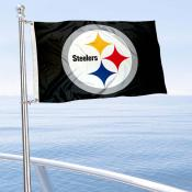 Pittsburgh Steelers Boat and Nautical Flag
