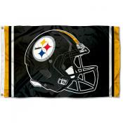 Pittsburgh Steelers New Helmet Flag