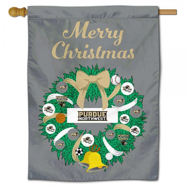 PNW Pride Happy Holidays Banner Flag measures 30x40 inches, is made of poly, has a top hanging sleeve, and offers dye sublimated PNW Pride logos. This Decorative PNW Pride Happy Holidays Banner Flag is officially licensed by the NCAA.