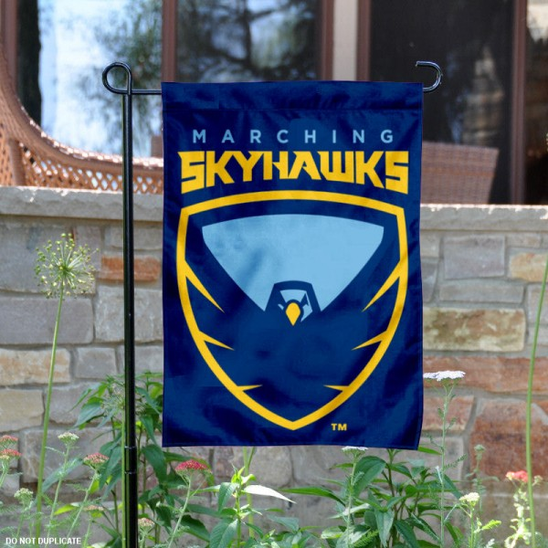 Point University Garden Flag is 13x18 inches in size, is made of 2-layer polyester, screen printed university athletic logos and lettering, and is readable and viewable correctly on both sides. Available same day shipping, our Point University Garden Flag is officially licensed and approved by the university and the NCAA.